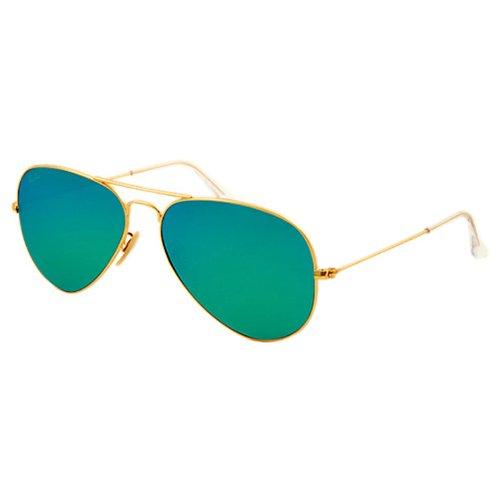 Ray-ban original aviator metal oro uomo occhiali da sole