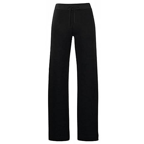 Lady Fit Jog Pants | Damen Jogginghose Farbe schwarz Größe XL (Damen Jogginghosen)