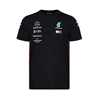 Mercedes-AMG Petronas Motorsport Men's 2019 F1™ Team T-shirt (L, Black)