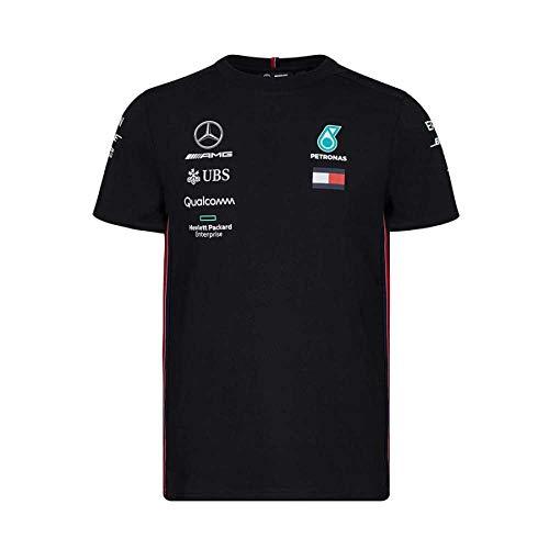 Mercedes-AMG Petronas Motorsport 2019 F1TM Camiseta del Equipo Negra H