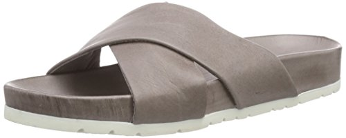 Inuovo SWEETHEART, Sandali aperti donna, Grigio (Grau (GREY LEATHER)), 38
