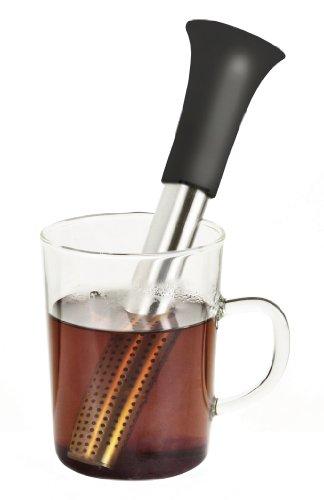 Metaltex TeaFlower Infuseur à thé et filtre