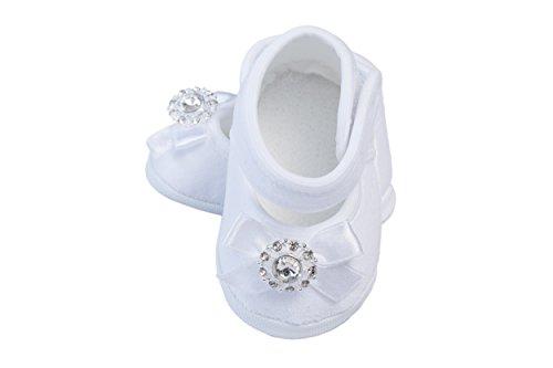 Bebelook Bebelook Taufschuhe Babyschuhe Mädchenschuhe Gr. 12 cm in Weiß