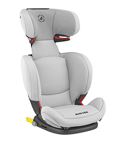Maxi-Cosi RodiFix AirProtect Child Car Seat, Isofix Booster Seat, Grey, 15-36 kg Maxi-Cosi Booster car seat for children from 15-36 kg (3.5 to 12 years) Grows along with your child thanks to the easy headrest and backrest adjustment from the top Patented air protect technology for extra protection of child's head 2