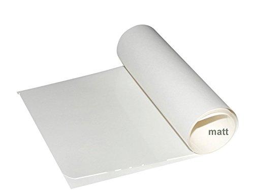 MTB Fahrrad Lackschutzfolie matt Xpel Stealth 1000 mm x 120 mm x 150 µ Steinschlagschutz für matte Lackierung (matte paint protection)