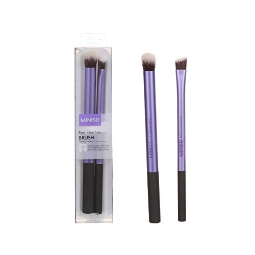 MINISO Professional Eye Shadow Brush Eye shadow Powder Cream Makeup Eye Cosmetic Make Up Tool, Purple