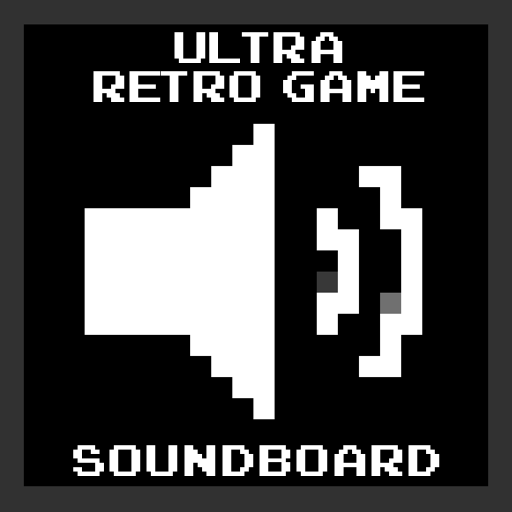Ultra Retro Game Soundboard (Retro Gaming Sound Effects Inspired by Video Games of the 70's 80's & 90's)