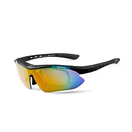 CHUJIAN Sonnenbrillen, professionelle Radsportbrillen, polarisierte Sonnenbrillen, Mountainbike-Windschutzscheiben für Herren und Damen, Outdoor-Sportgeräte, Fahrbrillen Hohe Qualität - das beste Gesc