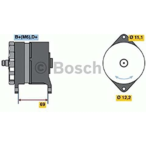Bosch 0120484009 ALTERNATORE