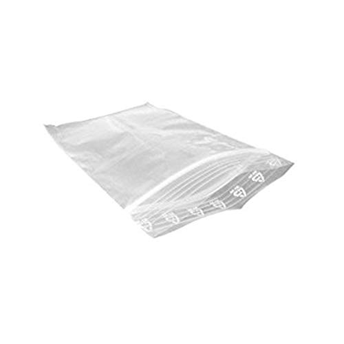 mxdmai 100 pcs Sacs en Plastique Transparent fermant à clé, Sacs postaux Repliable - 10 x 15 cm