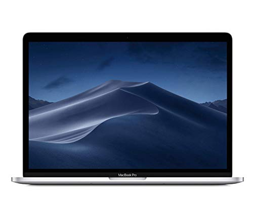 Apple MacBook Pro (13 Zoll mit Touch Bar, 2,3 GHz Quad‑Core Intel Core i5 Prozessor der 8. Generation, 256 GB) - Silber
