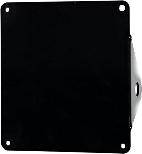 Iron Optics Motorrad seitlicher Kennzeichenhalter 2, Farbe:schwarz glänzend;Motorradmodell:Custombikes