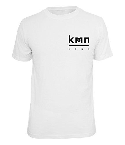 Die Beste KMN Gang Shirt Logo Brust Weiss Günstig Shoppen 4a47eb970c