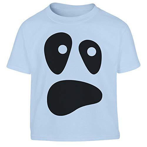 Halloween Kostüm Ghost Geister Gesicht Kleinkind Kinder T-Shirt - Gr. 86-116 106/116 (5-6J) ()