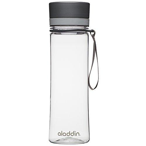 ALADDIN Herren Aveo Trinkflasche, grau, 0,6 Liter
