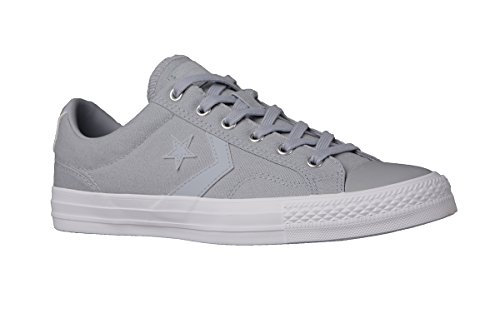 Converse Homme Star Player OX Formateurs, Gris, 42.5