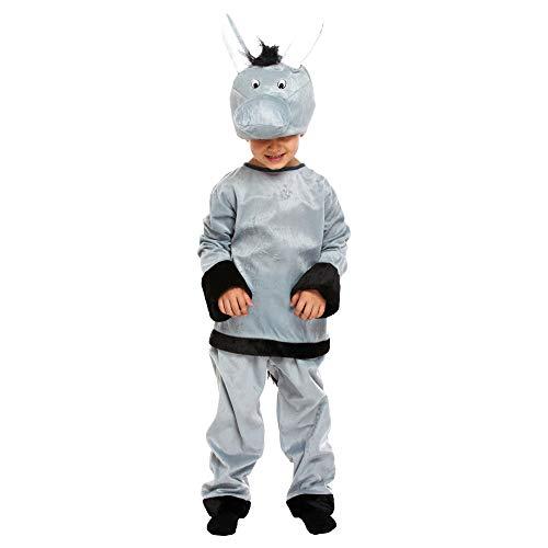 r Esel-Kostüm (7-9 Jahre) (Grau) ()