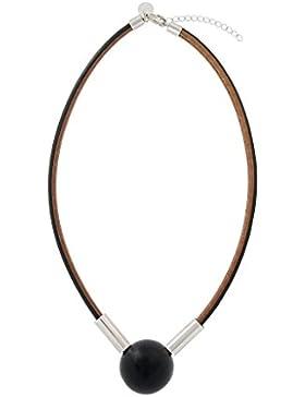Aarikka Seita Halskette schwarz, Länge 50 cm