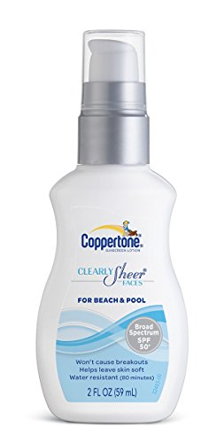 Coppertone Clearlysheer for Beach and Pool SPF