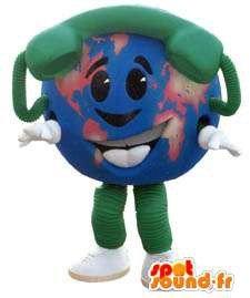 Imagen de amazon mascota muñeco de nieve personalizable spotsound globo con el teléfono disfraz