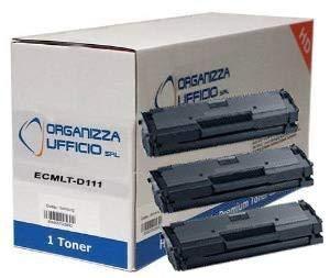 Organizza Ufficio 3 Toner O-MLT-D111S per Xpress M2070, M2070F, M2070FW, M2070W. Durata 1.800 Pagine al 5% di Copertura.