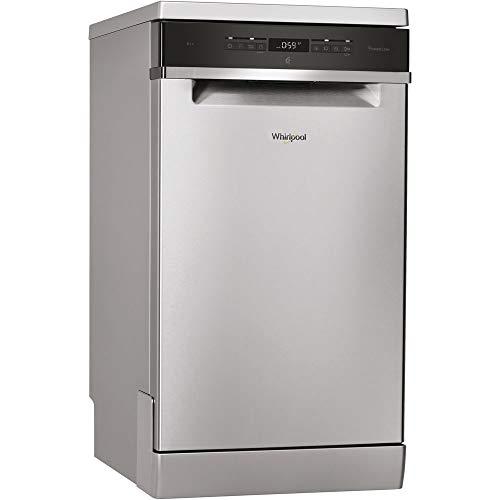 31llqWO2XcL. SS500  - Whirlpool (Uk Ltd WSFO 3T223 PC X 10-Place Slimline Dishwasher 8 Progs Class A++ S/Steel