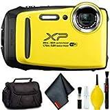 FUJIFILM FinePix XP130 Digital Camera (Yellow) Standard Bundle