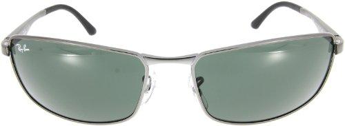 Ray-Ban - Lunette de soleil Polarisé RB3498 - Homme G15 Crystal Green