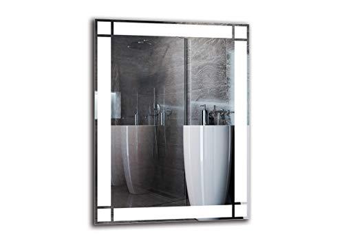 Espejo LED Premium   Dimensiones Espejo 60x80 cm