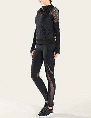 Jimmy Design - Leggings sportivi -  donna Schwarz - 2