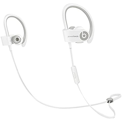 Beats PowerBeats 2 - Auriculares in-ear inalámbricos, color blanco
