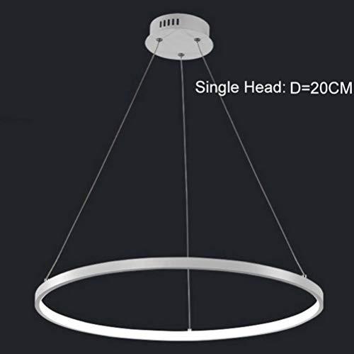 Zoom IMG-3 led cerchio luce moderna del
