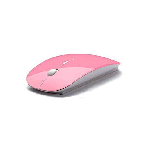Verau Kabellose Maus Wiederaufladbare 2.4G Geräuschlose Tragbar Mäuse Mouse Wireless Maus mit USB Nano Empfänger Optische Maus für PC Laptop iMac MacBook Microsoft Pro