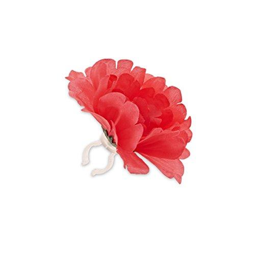 Basil Peony Flower - Dekorblume für Lenker oder Rahmen - Basil Blume