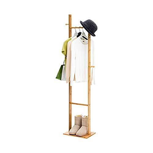 Garderobe stehend, bodenstehend Massivholz Schlafzimmer Kleiderbügel Kleiderständer Home Storage Einfache Moderne Finishing Rack Coat Finishing (Coat-rack Storage)