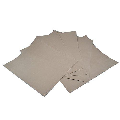 5Blatt–Körnung 5000Wasserdicht Papier nass/trocken Siliziumkarbid voller Größe 230*...