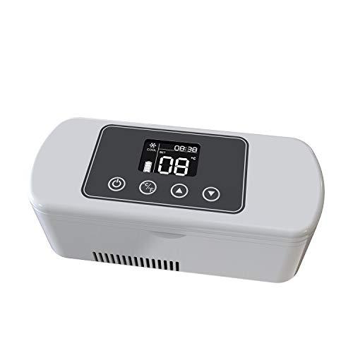 Dison Insulin Cooler Medicine Refrigerated Display LCD Cooler Mini Case Portable para refrigerar Drogas Reefer Car Small Refrigerator Travel Case para medicame