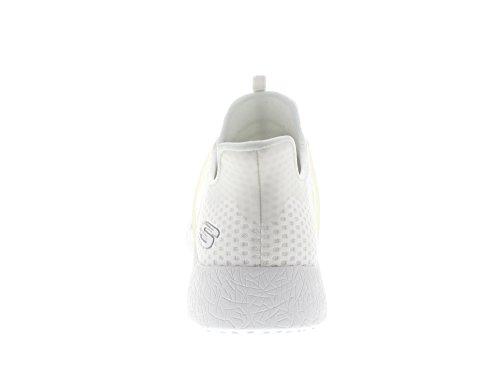 Skechers Herren Sneaker Burst Shinz Weiß Weiß (Wht)