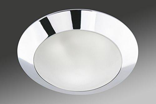 Plafoniere Per Bagni : Briloner leuchten plafoniera cromata per bagno punto