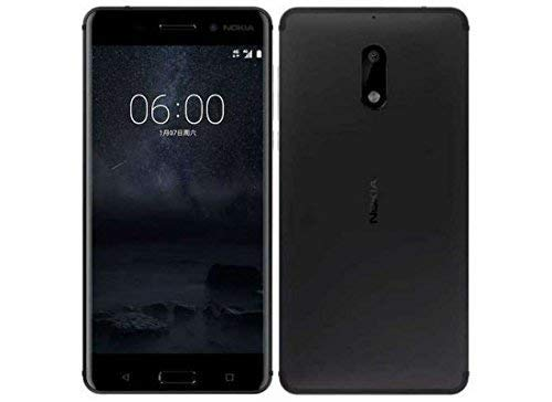 (CERTIFIED REFURBISHED) Nokia 6 (Matte Black ,64GB) (4 GB RAM)