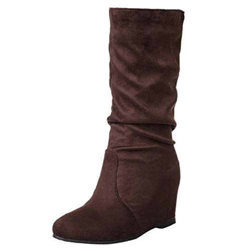 Abcone stivali donna invernali pelle eleganti stivaletti donna stivali cuoio retrò aumento cravatta scarpe basse stivali tacco alto scarpe stringate basse donna scarpe