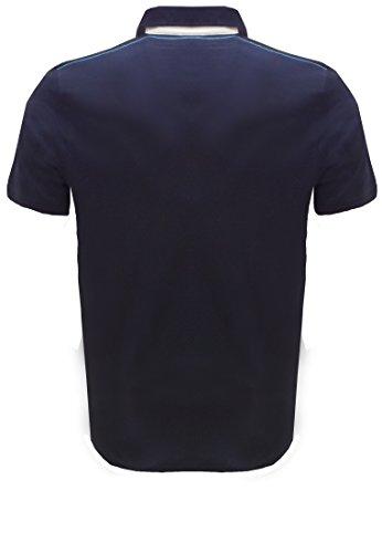 Kitaro -  Polo  - Basic - Maniche corte  - Uomo Marineblau