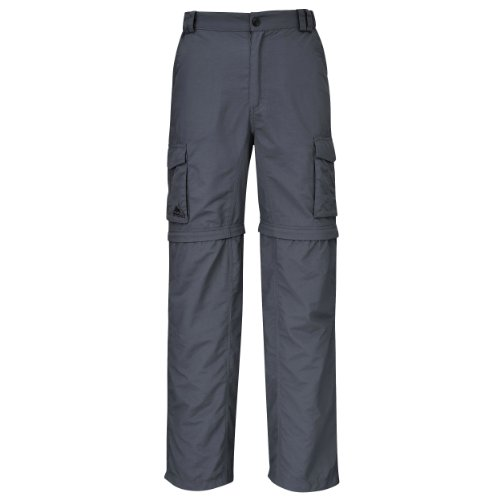 ose Range Men Quick Dry - Anti Moskito - UV Schutz, Colour: Grey, Size: XXL ()