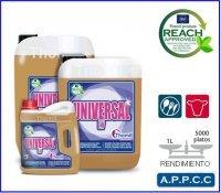 Automatische Geschirrspüler Waschmittel (Universal LV Kanister 12kgdetergente Geschirrspüler bis Gewässer harten Waschmittel Konzentrat von großer Macht Entfetter und desmanchante für das Waschen Geschirr, Besteck, Gläser und spülmaschinenfest Küchenutensilien- oder Tunnel Zyklen Waschen. Enthält secuestrantes Kalk und Mineralien verhindert die Bildung von besetzt. Sehr kostengünstig und effektiv. Niedrig-Dosis für Hühneraugen von bis zu 40ºhf. Kompatibel mit Edelstahl, Steingut und Kunststoffe. Enthält nicht Sosa caústica.)