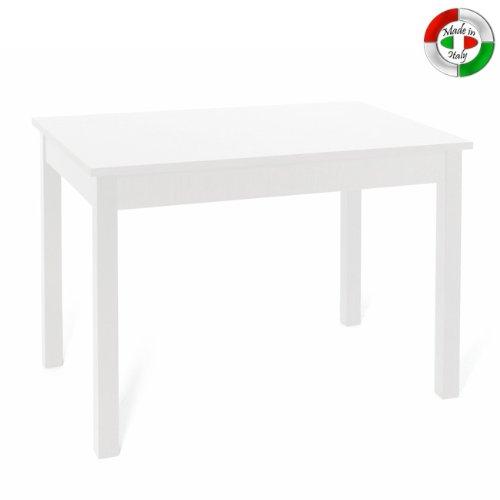 Tavolo Da Cucina 70 X 110 Allungabile.Tavolo Da Pranzo Allungabile Interamente In Legno Cm 70x110 150