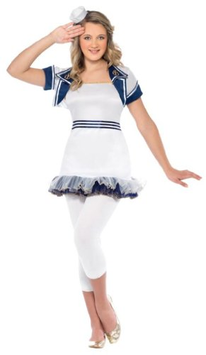 Original Lizenz Living Dead Dolls Puppenkostüm ' Alice im Wunderland ' Kostüm für Damen Dämon erwachte Puppe Halloween Damenkostüm Halloweenkostüm Horror Grusel Gr. 34 (XS), 36/38 (S), - Living Doll Kostüm