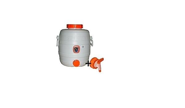 Speidel Getr/änkefass 20 Liter Rund G/ärspund