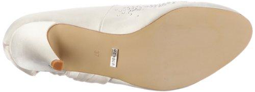 Menbur Wedding Nati 04878, Chaussures femme Blanc (TR-B2-Ivoire-35)