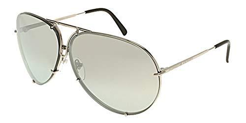NEW Genuine Porsche Design Sunglasses Glasses - Size: 66--10--135 - Color: Titanium