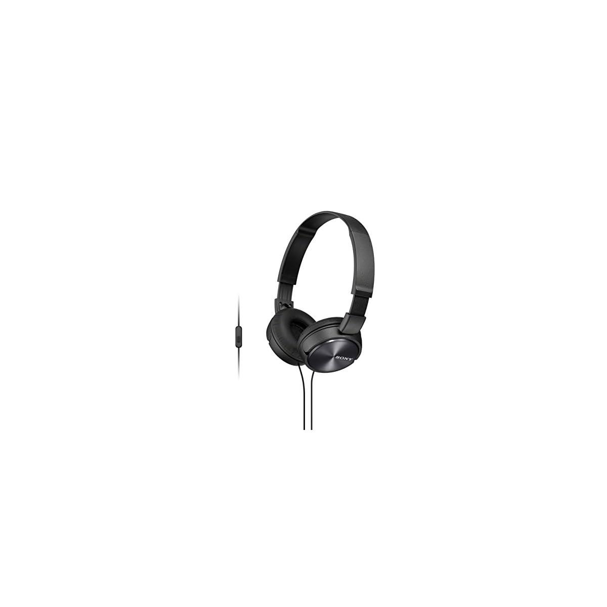 Auriculares de diadema cerrados con micr/ófono, control remoto integrado azul Sony MDR-ZX310APL